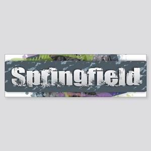 Springfield Design Bumper Sticker